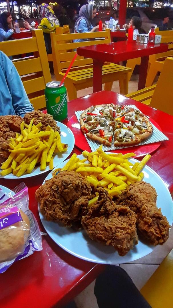 مرغ سوخاری تهران (آتلانتیک)