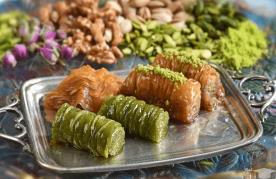 شیرینی باقلوا استانبولی نفیس