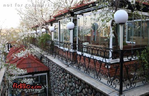 رستوران  فست فود  باغ بهشت (فشم)
