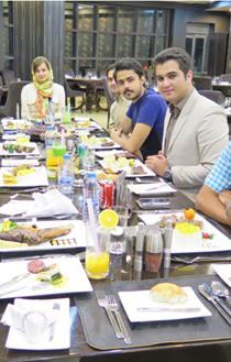 عکس صبحانه در کافه