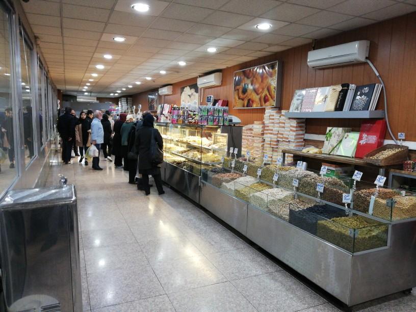 شیرینی فروشی نان و شیرینی تهران