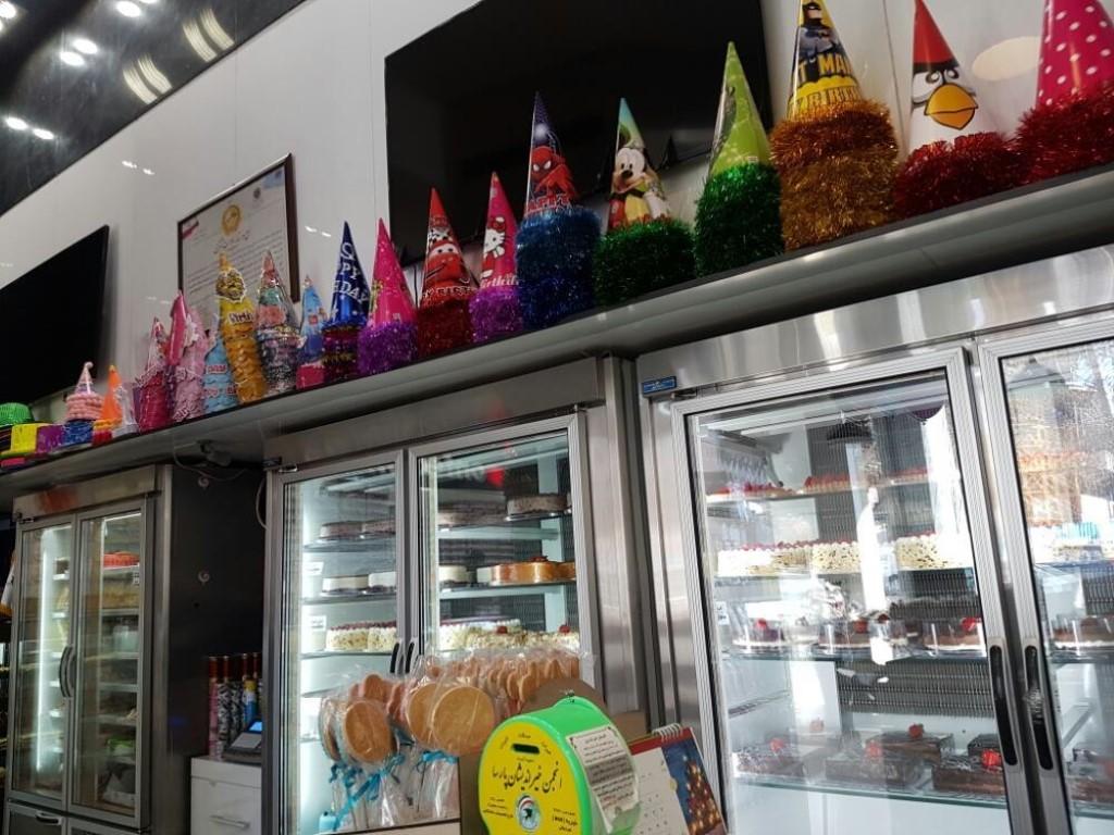 شیرینی فروشی نیشکر زعفرانیه (شعبه VIP)