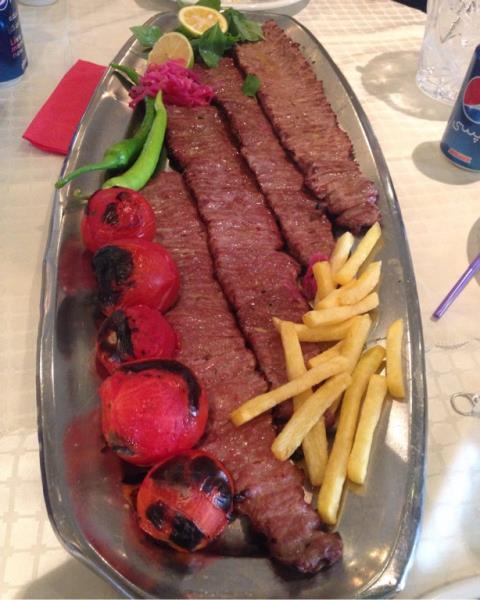 رستوران فست فود البرز