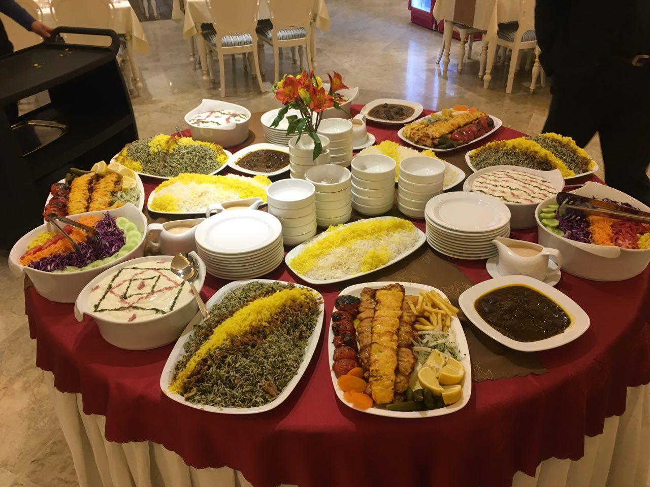 رستوران فست فود لوکس تهران