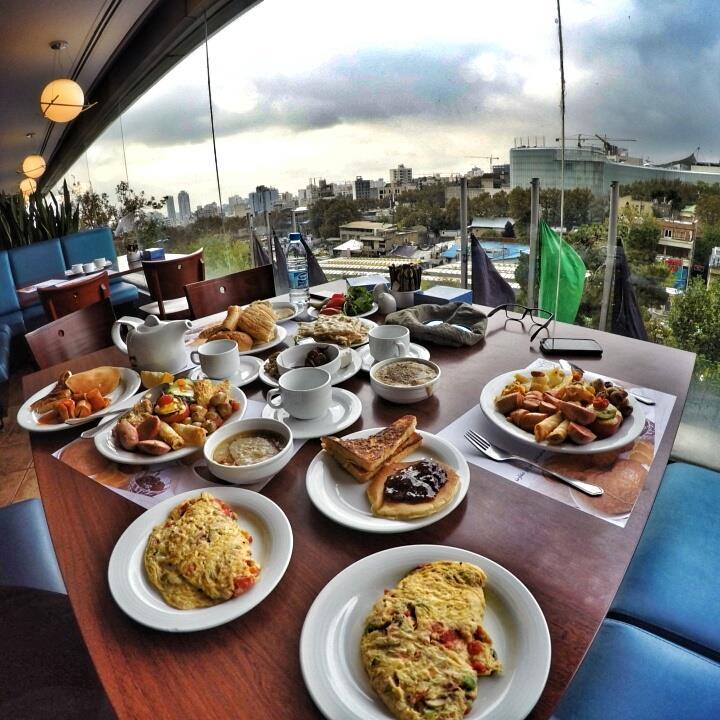 رستوران فست فود اردک آبی