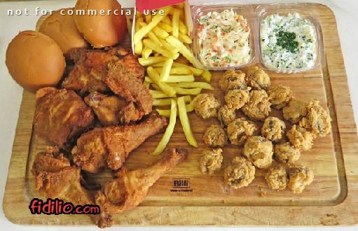رستوران فست فود مرغ سوخاری دی(مطهری)