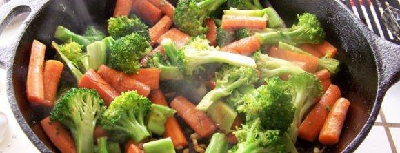 روش پخت سبزیجات